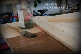 Distressing Diy by Pretty Distressed Diy Distressed Sliding Barn Door