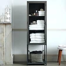 Bathroom Shelves For Towels Bathroom Towel Storage Cabinet Robys Co