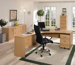 home office furniture wood home office vancouver premium oak and stylish chunky oak