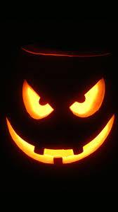 halloween colors wallpaper evil pumpkin glowing halloween android wallpaper free download