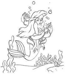 mermaid cute mermaids funky costume coloring