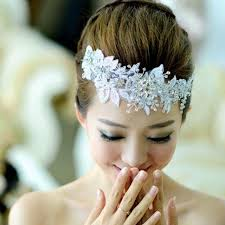 forehead bands bridal rhinestone band that can be adjusted 2051911 weddbook