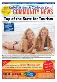 rainbow beach community news may 2017 by coastal and hinterland