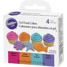 bright gel food color set wilton