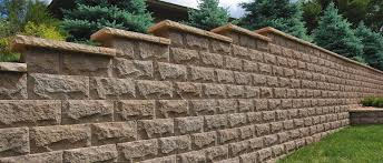Recon Retaining Wall by Classic Chiseled Face Rochester Concrete Products