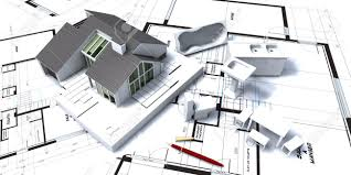architectural blueprints for sale 3d rendering of residential house on architect s blueprints with