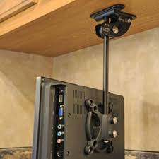 RV TV Mount Installation Ideas And Resource Examples And - Corner cabinet for rv