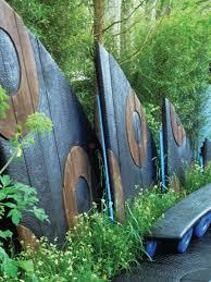 Ideen Aus Holz Fur Den Garten Kreative Garten Zaun Design Ideen U2013 Ein Highlight Im Garten Setzen