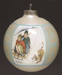 schmid norman rockwell ornament at replacements ltd