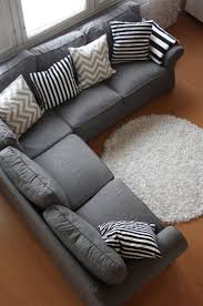 accent color meaning grey couch with cool pillows could also add some accent color