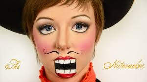 Youtube Halloween Makeup by Halloween Makeup Tutorials 2013 The Nutcracker Look Youtube