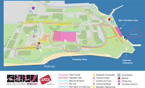 Maps Portland Maine by Tri For A Cure Course Map U0026 Parking