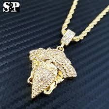 accessories chain necklace images Accessories masked thug medusa pendant rope chain necklace jpg