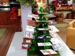 christmas holder christmas tree card holder diy