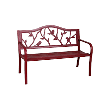 Steel Patio Furniture Sets by Bench Metal Porch Loveseat Glider For Outdoor Bench Ideas Stunning