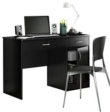 South Shore Axess Small Desk Small Black Computer Desk Freedom To