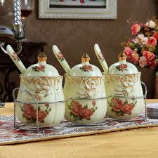 unique canister sets kitchen kitchen accessories apple ceramic decorative kitchen canisters