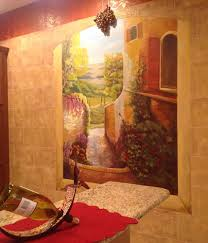 Mural Painting On Canvas by Hand Painted Murals On Canvas