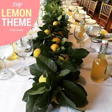 themed bridal shower how to throw a diy lemon themed bridal shower list