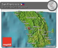 san francisco quezon map free satellite 3d map of san francisco