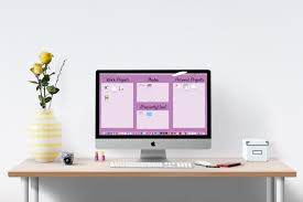 Organize Your Desk by Organize Your Computer Desktop I Heart Planners
