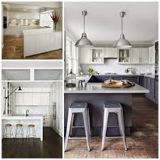 u shaped kitchen large working space that runs freely interior