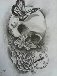 butterfly skull meaning butterfly and skull meaning