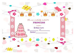 25 princess birthday invitations attractive templates for your