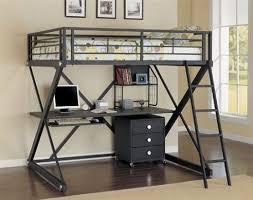 bedroom trendy mixing work with pleasure loft beds with desks