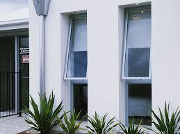 Aluminium Window Awnings Natural Anodized Double Glazing Aluminium Awning Window L Foncci