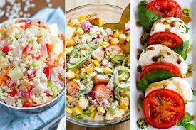 easy healthy salad recipes 22 ideas for summer u2014 eatwell101
