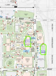 Chicago Map Pdf Uic Map Map Of Uic East Campus Chicago Area Siam Student