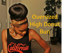 owigs clip ins oversized twisted donut bun using clip ins from owigs