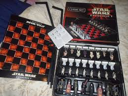 star wars episode 1 amazing chess set youtube