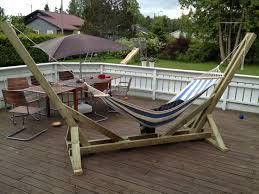 best 25 wooden hammock stand ideas on pinterest small wooden
