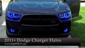 amazon com ijdmtoy complete set yellow lens fog lights foglamp oracle dodge charger 11 14 headlight halo kit by shoppmlit com