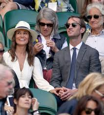 pippa middleton and husband james matthews at wimbledon with