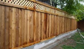 Cool Ideas For Backyard Fence Cool Fence Ideas For Backyard Awesome How To Build Wood