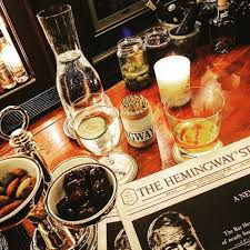 alcoholic drinks at a bar the triumphant return of bar hemingway at the ritz paris an