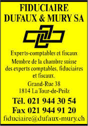 chambre fiduciaire fiduciaire dufaux mury s a in la tour de peilz view address