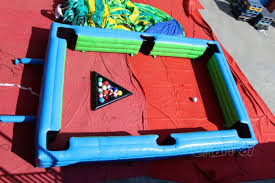 life size pool table life size soccer pool table channal inflatables