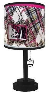 Monster High Bedroom Accessories by Monster High Wall Clock Wooden Pink Black Skullette Girls Bedroom