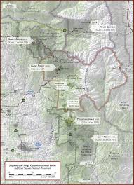 Bear Creek Trail Map Sequoia And Kings Canyon National Parks Camping Pinterest