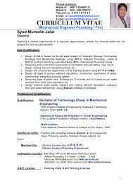 Plumbing Resume Examples by Plumbing Supervisor Resume Sample Free Resume Example And