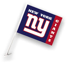 New York Giants Flag Amazon Com Nfl Car Flag With Wall Bracket Sports U0026 Outdoors