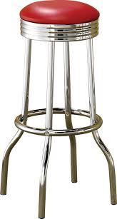 Bar Stool Sets Of 2 Coaster Furniture 2299r Cleveland Soda Bar Stool