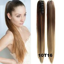 clip on ponytail claw clip ponytail hair extensions 22 ponytail hairpieces braid