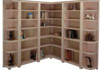 Corner Bookcase Ideas Modern Wooden Large Corner Bookcase Ideas 35 Laredoreads