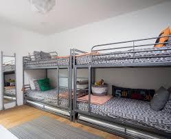 Ikea Tuffing Bunk Bed Hack 2 Bunkbeds W Trundles Sleeps 6 Ikea Svärta Http Www Ikea