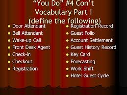 Front Desk Executive Means Hospitality Operations Ppt Video Online Download